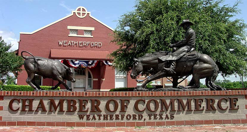 moving to weatherford