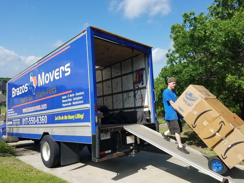 movers in Granbury
